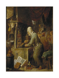 An Alchemist, 1631-1640 Giclee Print by David Teniers the Younger