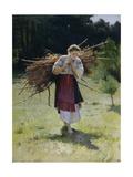 From the Forest, 1900 Giclee Print by Nikolai Kornilovich Pimonenko