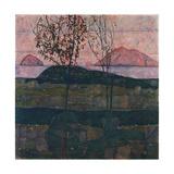 Setting Sun, 1913 Giclee Print by Egon Schiele