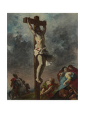 Christ on the Cross, 1853 Reproduction procédé giclée par Eugène Delacroix