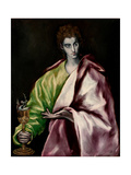 Saint John the Evangelist Giclee Print by  El Greco