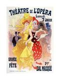 Théatre De L'Opéra, Bal Masqué, 1898-1899 Giclee Print by Jules Chéret