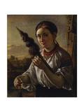 Spinner, 1821 Giclee Print by Vasili Andreyevich Tropinin