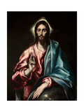 Salvator Mundi (El Salvado) Giclée-tryk af  El Greco