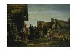 The Pilgrims, 1870 Giclee Print by Illarion Mikhailovich Pryanishnikov
