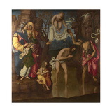 The Baptism of Christ, 1514 Giclee Print