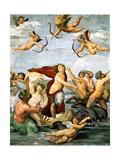 Triumph of Galatea, C. 1512 Impression giclée par  Raphael