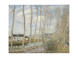 Canal Du Loing, 1892 Giclee Print by Alfred Sisley