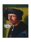 Self-Portrait, 1533 Giclee Print by Jacob Cornelisz van Oostsanen