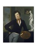 Self-Portrait, 1815-1816 Giclee Print by Moritz Daniel Oppenheim