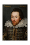 The Cobbe Portrait of William Shakespeare, C1610 Giclee Print