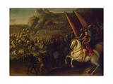 A Battle, 1634 Giclee Print by Juan de la Corte