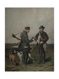 Hunters, 1864 Giclee Print