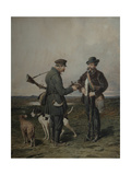 Hunters, 1864 Giclee Print by Pyotr Petrovich Sokolov