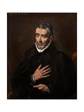 Portrait of Juan De Ávila Giclee Print by  El Greco