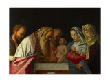 The Circumcision, C. 1500 Giclee Print by Giovanni Bellini