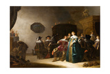 Merry Company, 1633 Giclee Print by Anthonie Palamedesz