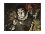 The Fable, C. 1580 Giclee Print by  El Greco