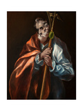 Saint Jude the Apostle Giclee Print by  El Greco