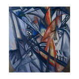 Fire in the City, 1913 Giclee-trykk av Olga Vladimirovna Rozanova