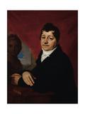 Portrait of Sergei Savvich Yakovlev (1763-181), C. 1810 Giclee Print by Vladimir Lukich Borovikovsky