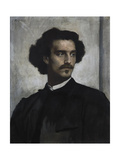 Self-Portrait, 1873 Giclee Print by Anselm Feuerbach