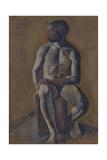 Portrait of Kirill Zdanevich (1892-196), 1910S Giclee Print by Mikhail Vasilyevich Le Dantyu