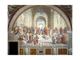 The School of Athens, 1509-1511 Reproduction procédé giclée par  Raphael