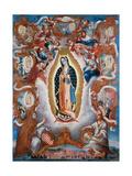 Our Lady of Guadalupe, 1779 Wydruk giclee autor Sebastián Salcedo