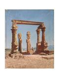 An Egypt Temple Ruin Giclee Print by Vasili Vasilyevich Vereshchagin