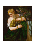 Lucretia, Ca 1583 Giclee Print by Paolo Veronese