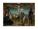 The Crucifixion, 1509 Giclee Print by Juan de Flandes