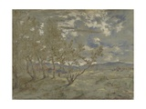 Landscape, Ca 1865 Giclee Print by Théodore Rousseau