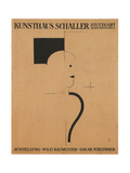 Art Exhibition: Willy Baumeister - Oskar Schlemmer, 1918 Giclee Print by Oskar Schlemmer