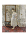 The Cheval Glass, 1876 Giclee Print by Berthe Morisot