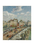 The Pont-Neuf, 1902 Giclee Print by Camille Pissarro