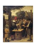 The Quacksalver, 1679 Giclee Print by Jan Havicksz Steen