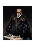 Portrait of Dr. Francisco De Pisa Giclee Print by  El Greco