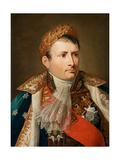 Portrait of Emperor Napoléon I Bonaparte (1769-182) Giclee Print by Andrea Appiani