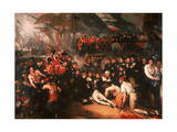 The Death of Nelson, 1806 Giclee Print by Benjamin West