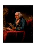 Portrait of Benjamin Franklin, 1767 Giclee Print by David Martin