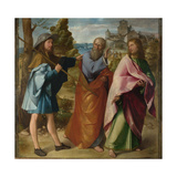 The Road to Emmaus, C. 1516 Giclee Print by Altobello Melone