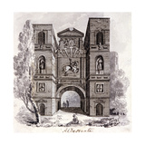 Aldersgate, London, 1800 Giclee Print