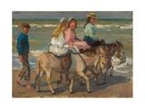 Donkey Riding, 1898-1901 Giclée-tryk af Isaac Israëls