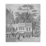 Shops on Cheapside, City of London, 1870 Giclee Print