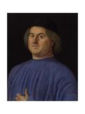 Portrait of a Man, 1497 Giclée-tryk af Alvise Vivarini