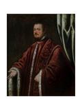 Portrait of Nicolò Da Ponte Giclée-tryk af Domenico Tintoretto