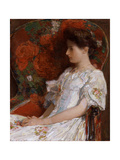 The Victorian Chair, 1906 Giclee Print by Childe Hassam