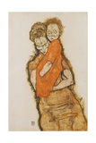 Mother and Child, 1914 Giclee Print by Egon Schiele