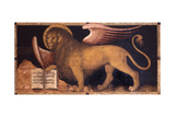 The Lion of Saint Mark Giclee Print by Jacobello del Fiore